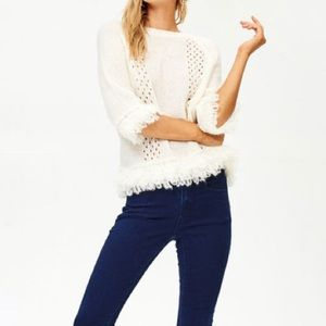 [Cozy Casual] Fringe Knit Sweater